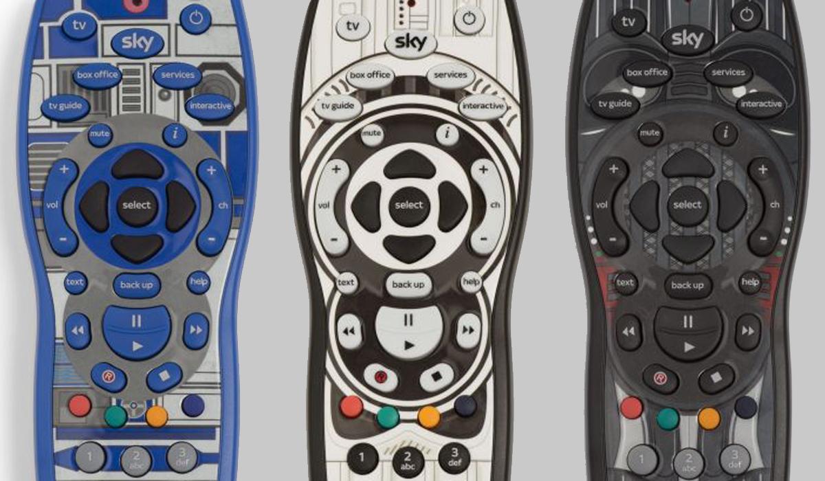 Star Wars Sky Remotes