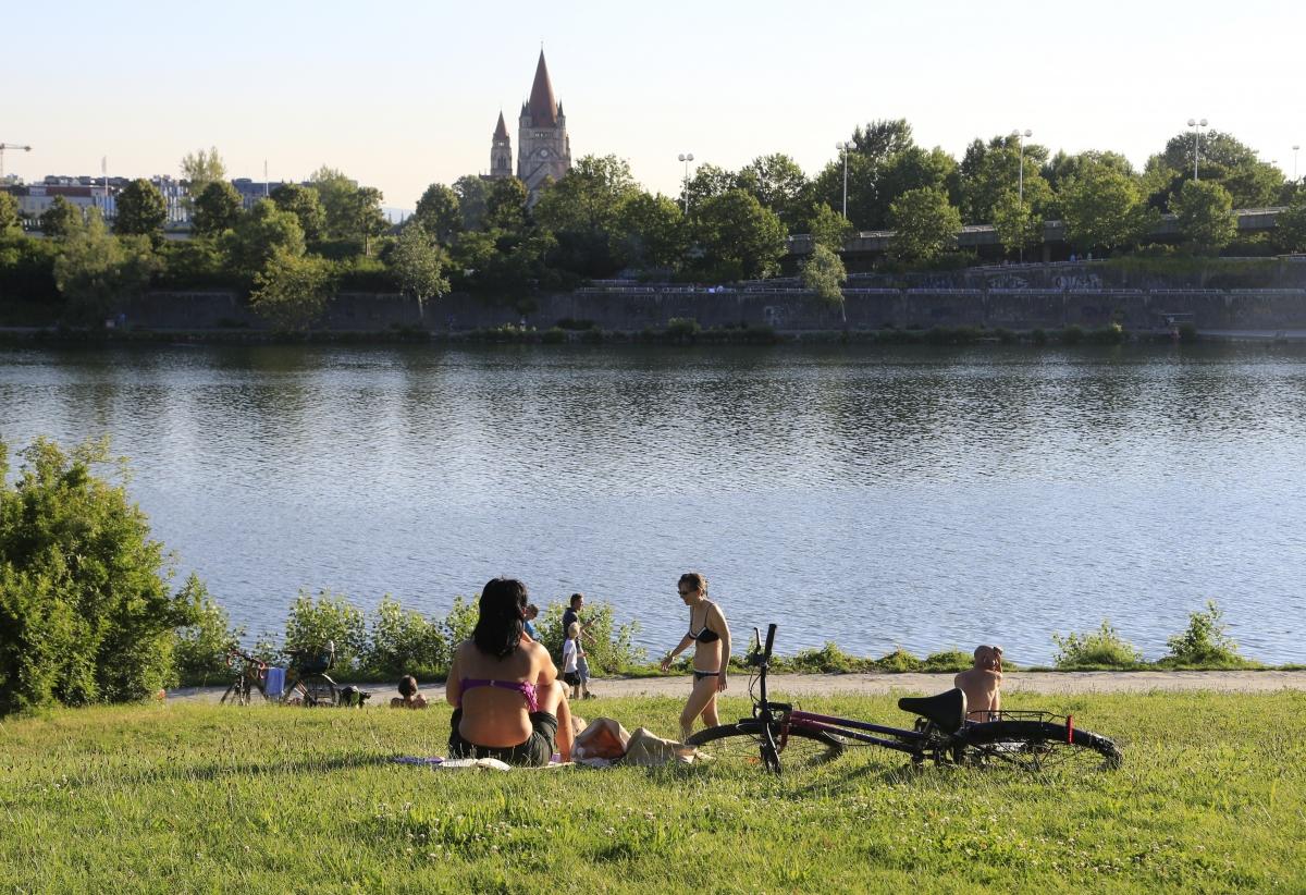 Danube River Vienna
