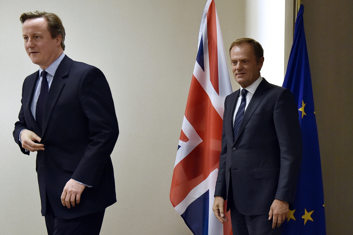 Donald Tusk and David Cameron