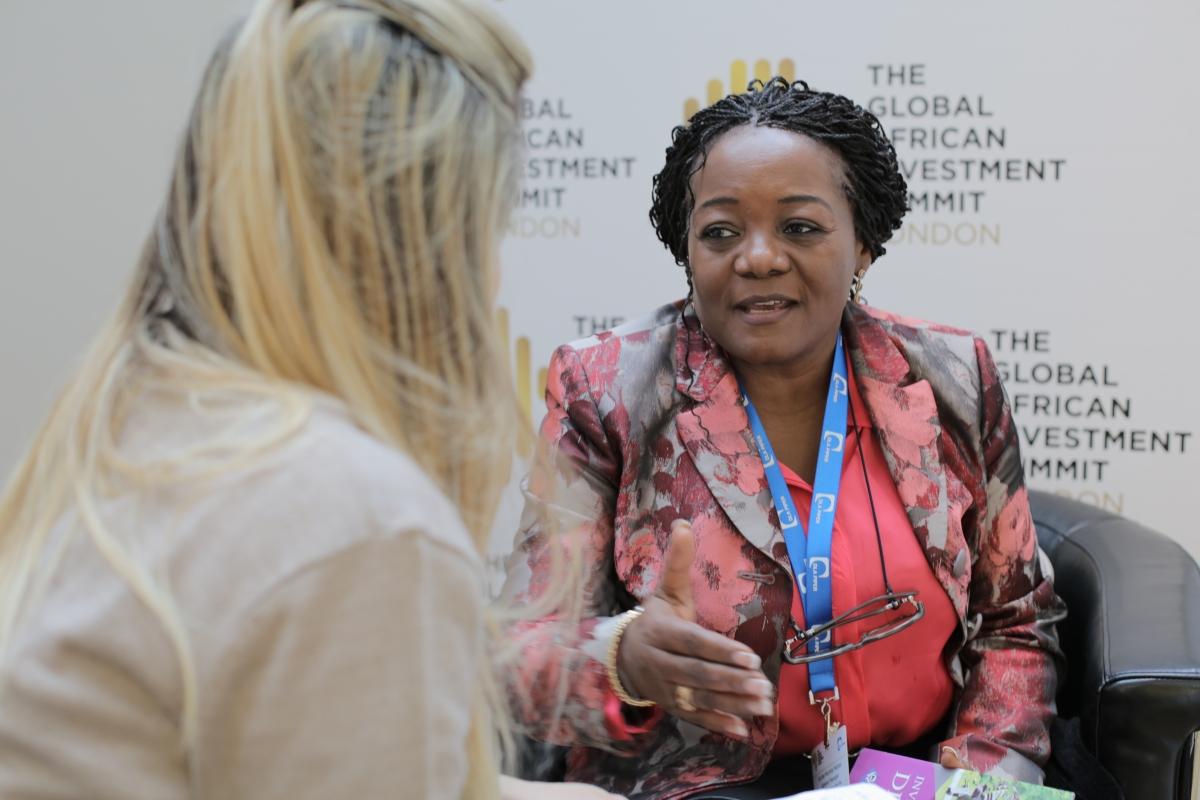 DRC former Minister Wivine Mumba Matipa