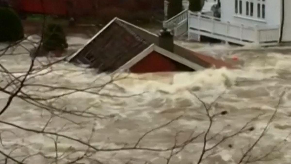 Severe floods in Norway