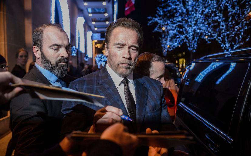 Arnold Schwarzenegger at COP21
