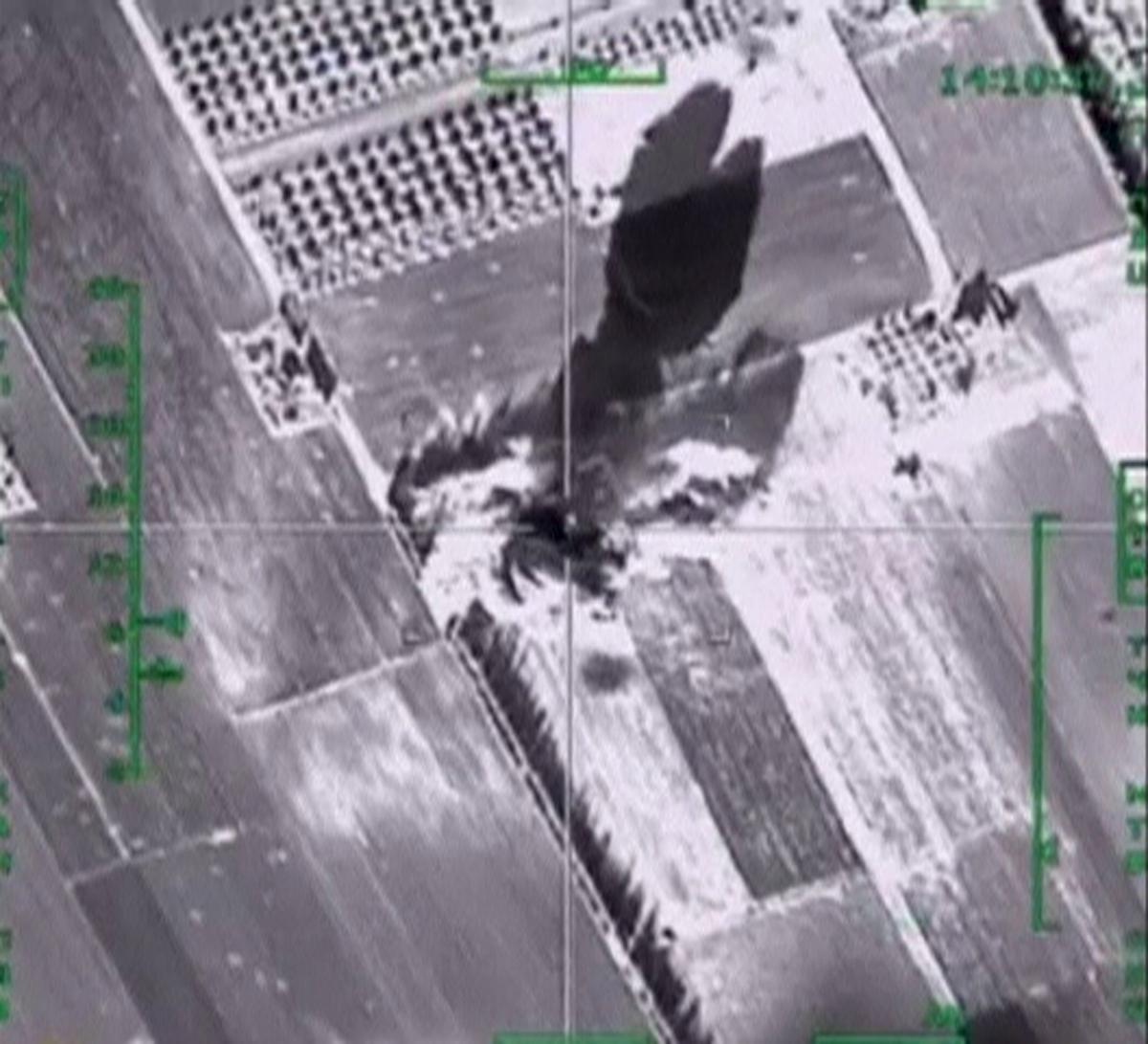 Russia air strikes Syria