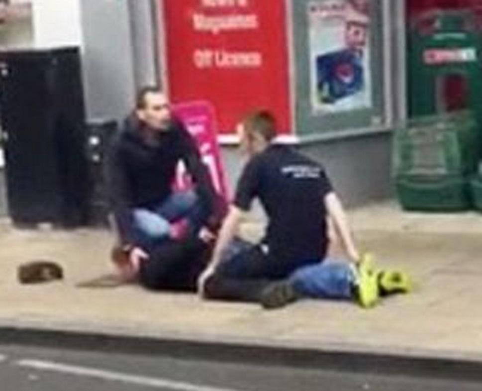 Poundland stabbing