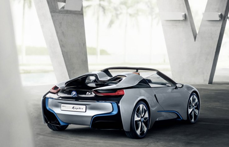 CES 2016: BMW to reveal new i8 Spyder concept at Las Vegas ...
