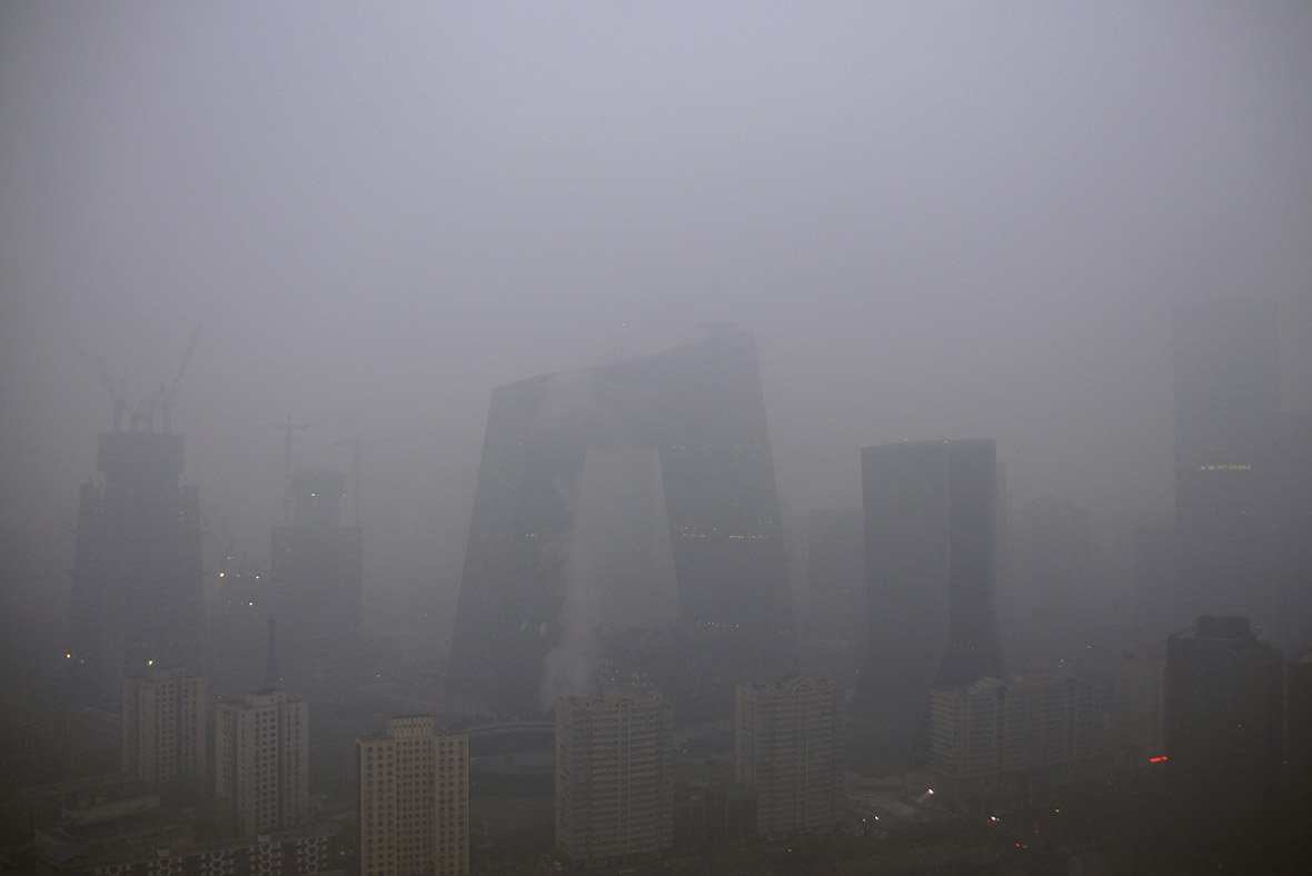 China Restaurant Caught Charging For Clean Air Amid