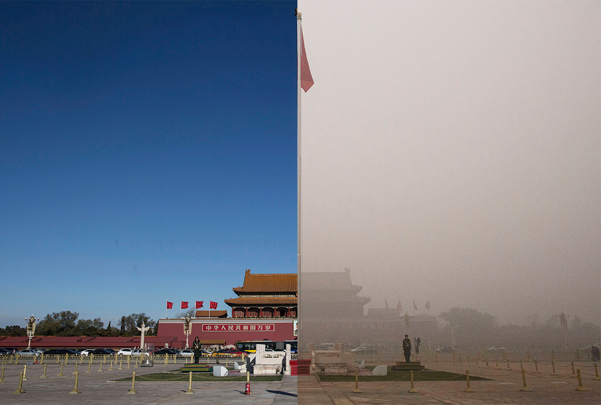 a study on environmental degradation in beijing china