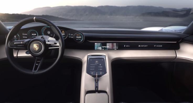 Porsche Mission E interior