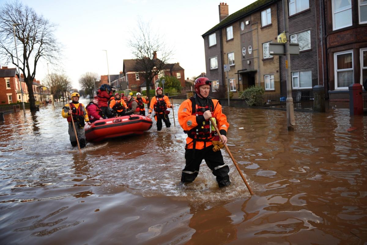 Cumbria flooding