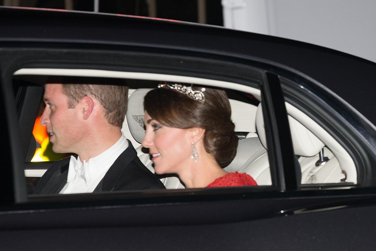 Kate Middleton Stuns In Cambridge Love Knot Tiara At