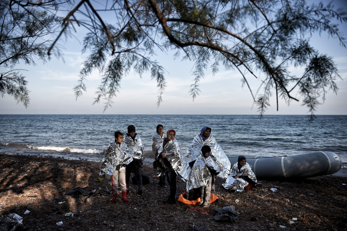 Refugees and migrants Greece