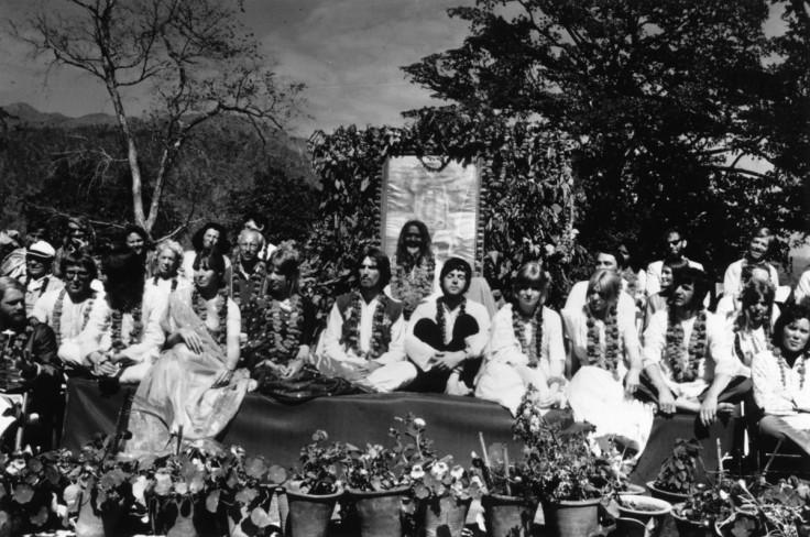 Beatles in Rishikesh, India