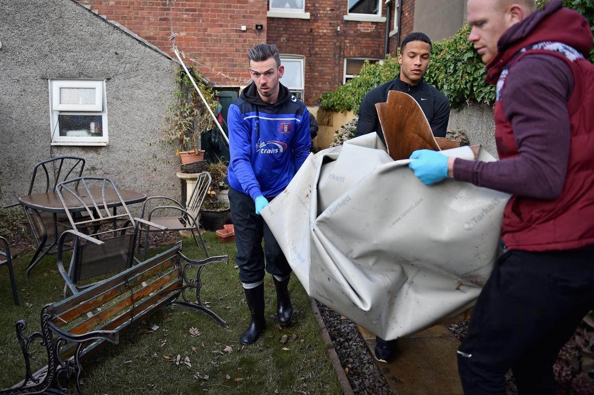 Cumbria floods volunteers