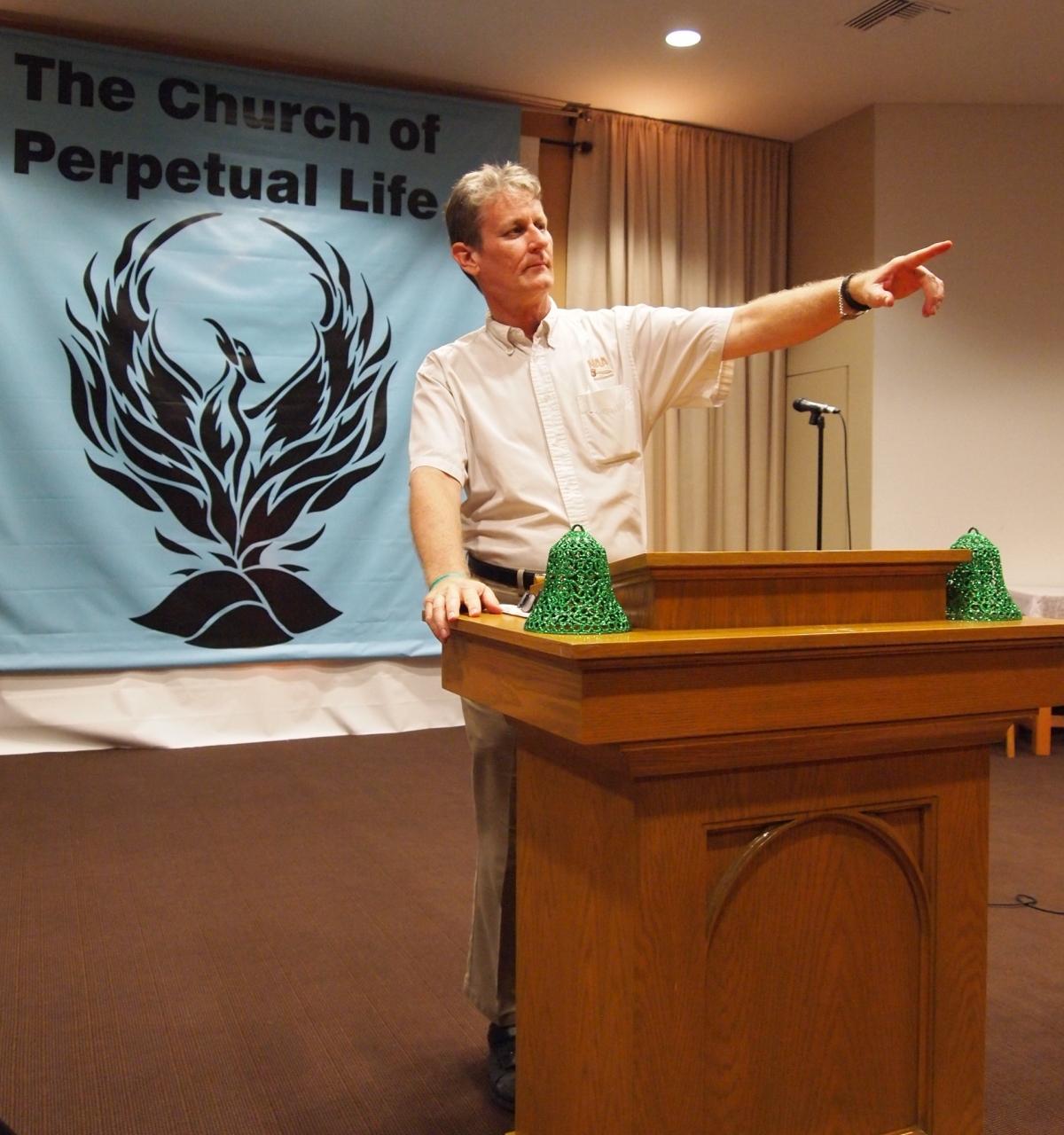 transhumanism religion church perpetual life