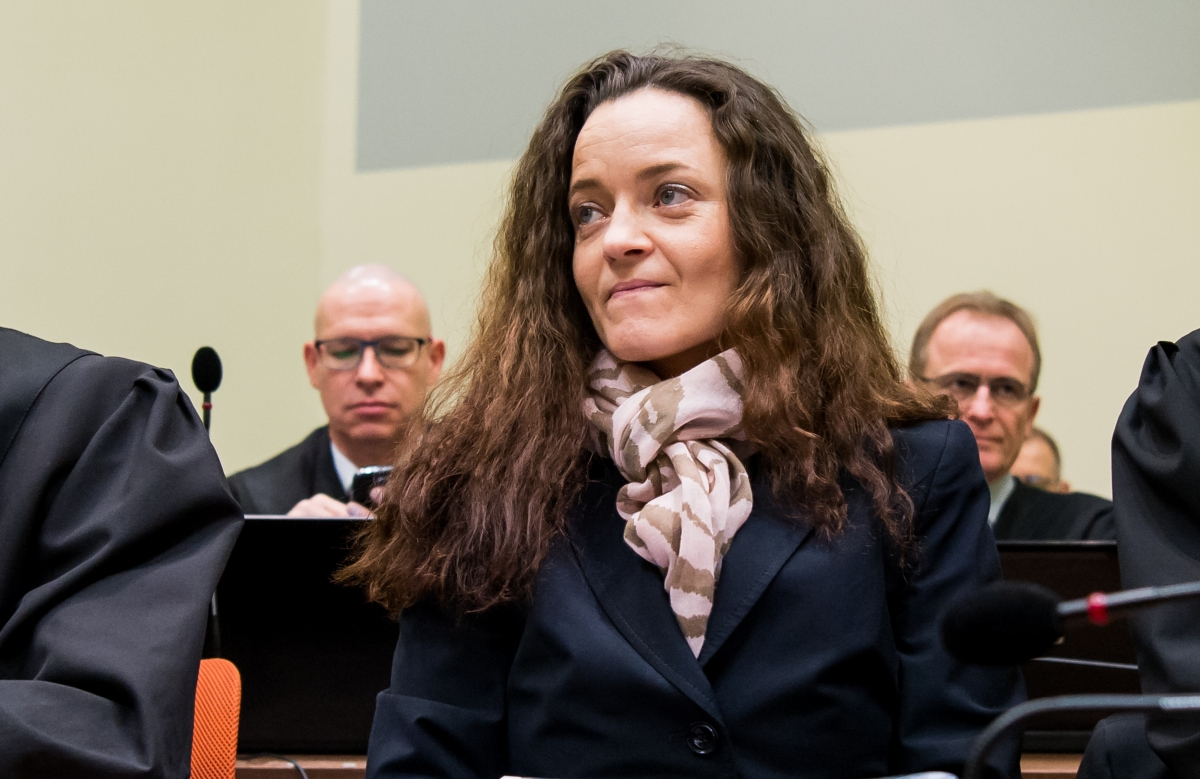 Germany neo Nazi trial Beate Zschaepe