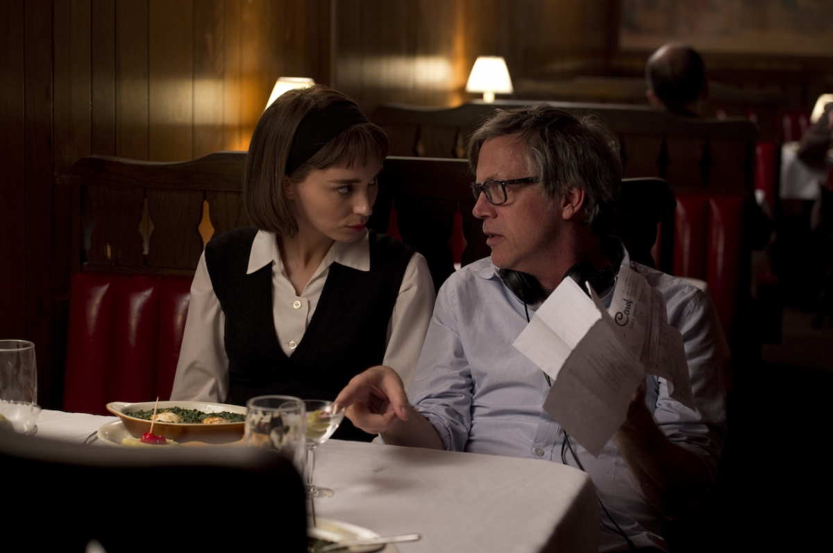 Rooney Mara and Todd Haynes