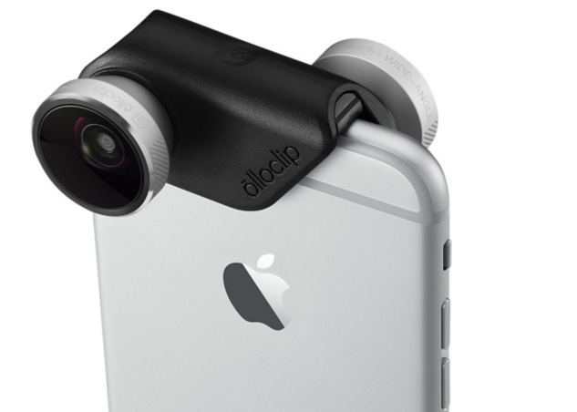 Olloclip lens for iPhone 6