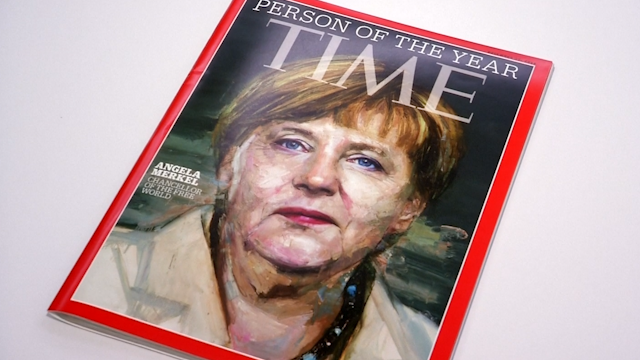 Angela Merkel on TIME