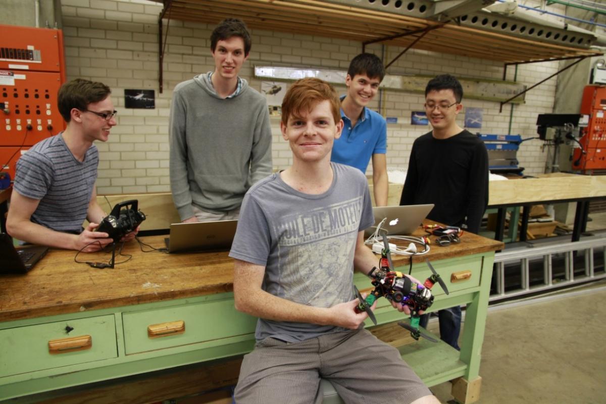 University of Sydney students break drone record