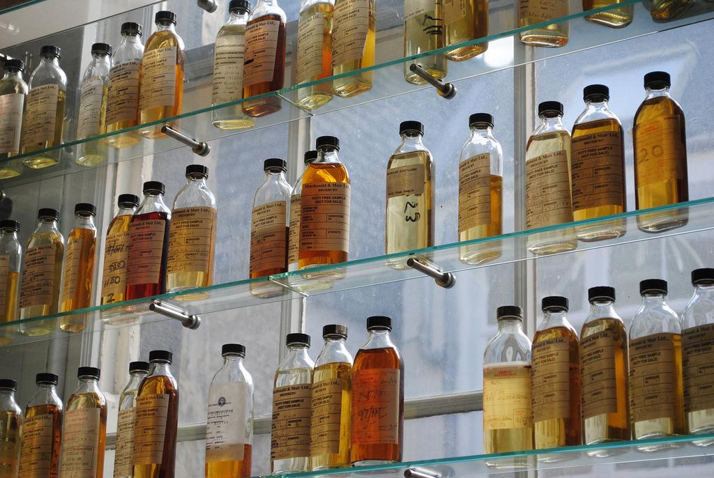 Whisky samples