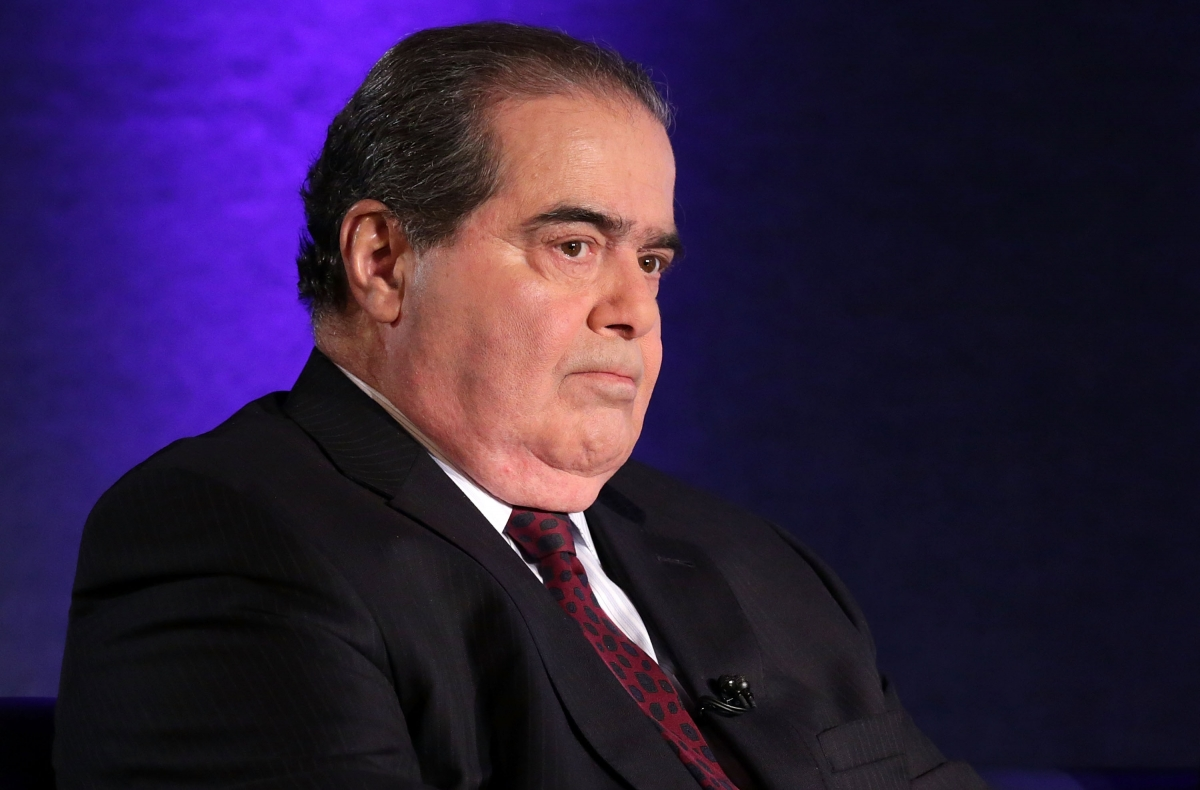 Supreme Court Judge Antonin Scalia