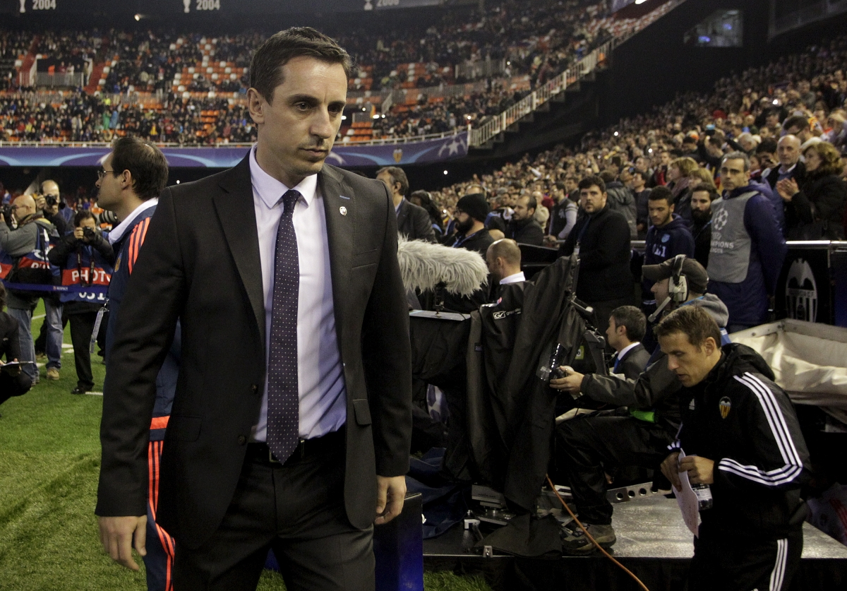 Gary Neville: Valencia boss unconcerned by potential ...