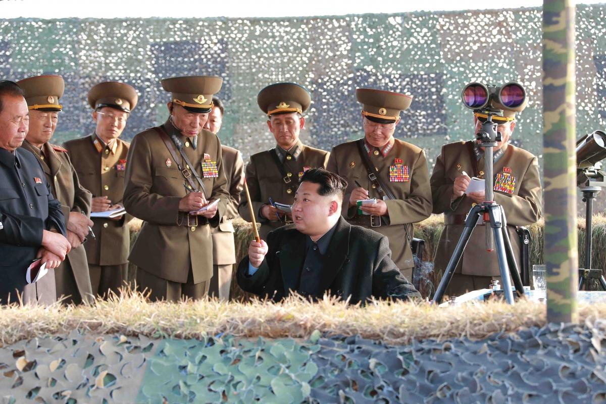 Kim Jong Un rocket test