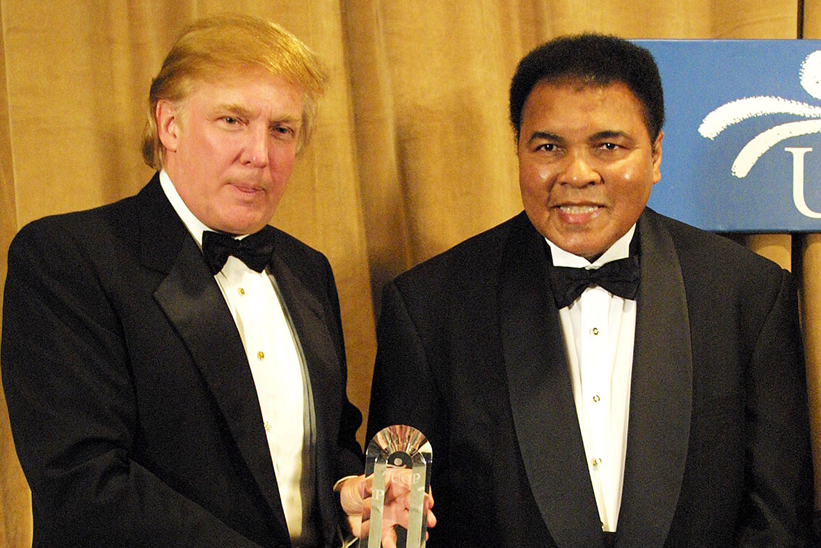 Donald Trump meets Muhammad Ali