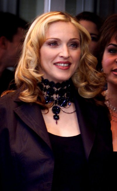 Madonna arrives at the Odeon West End for the premiere of her latest movie The Next Best Thing  in which she stars with British actor Rupert Everett, June 6. Madonna is currently pregnant with British film director Guy Ritchies baby.