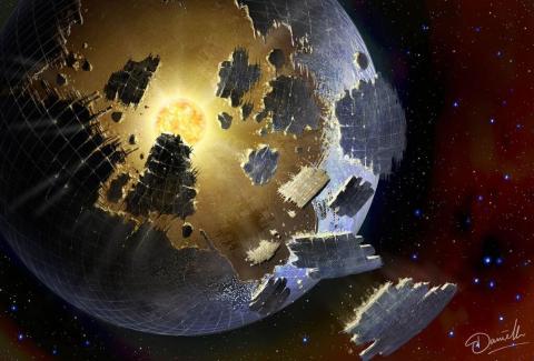 alien megastructure