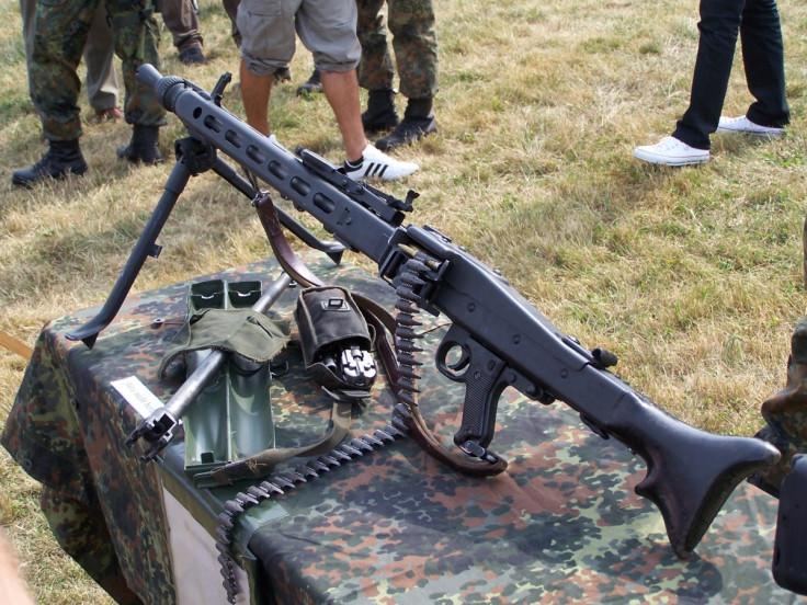 Bundeswehr Rheinmetall MG 3