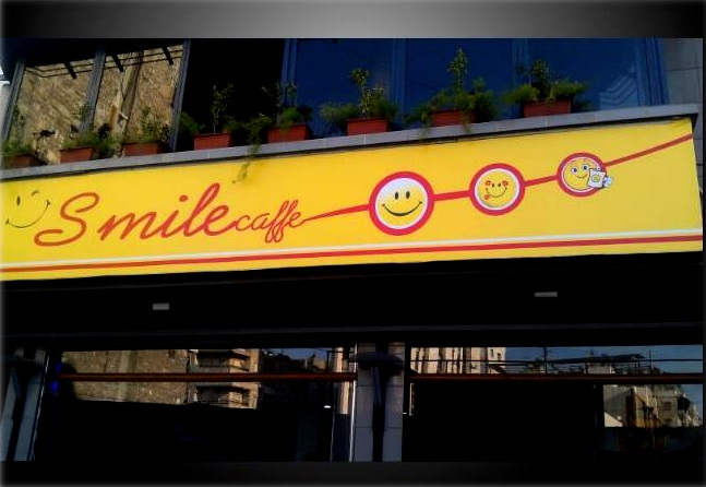 smile cafe front