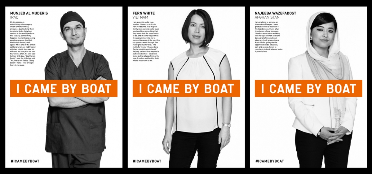 I Came By Boat campaign