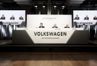 Volkswagen press conference