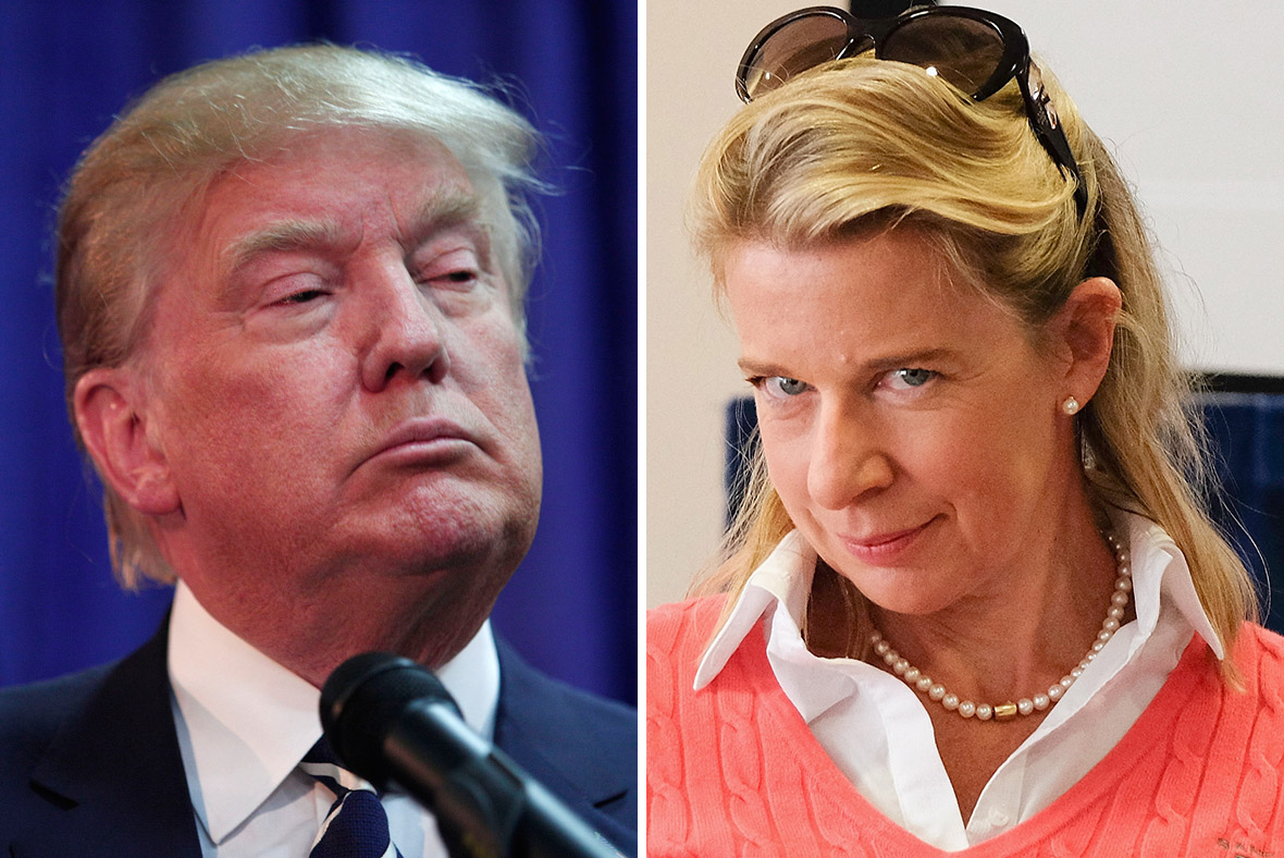Donald Trump and Katie Hopkins