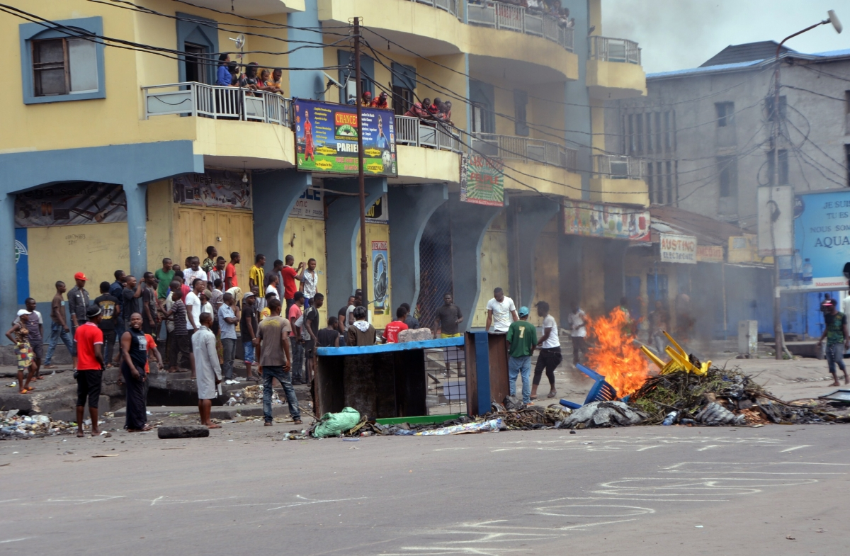 Political protests in DRC