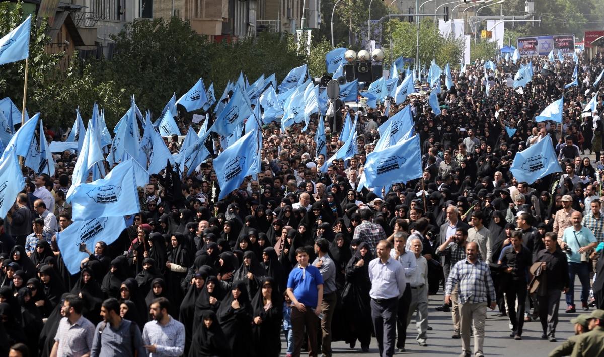 Hajj Iran protest