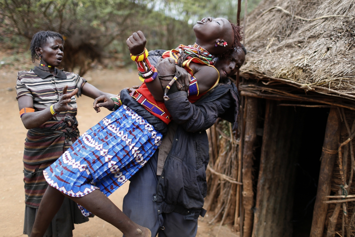 Kenya Teenage girl forced into child marriage
