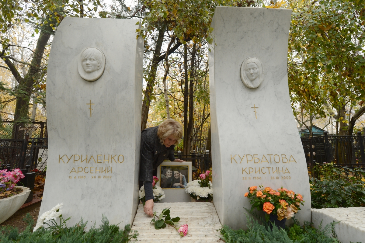 Vagankovo cemetery in Moscow