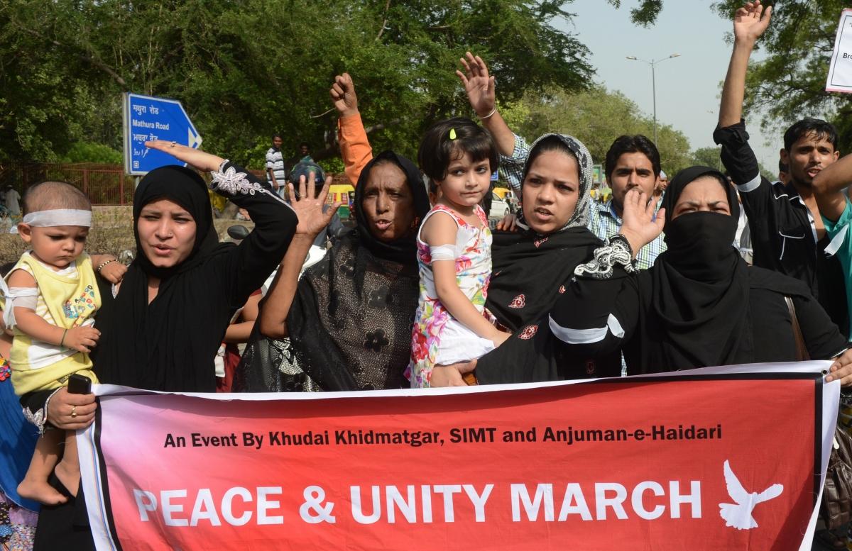 Indian Muslims condemn terrorism
