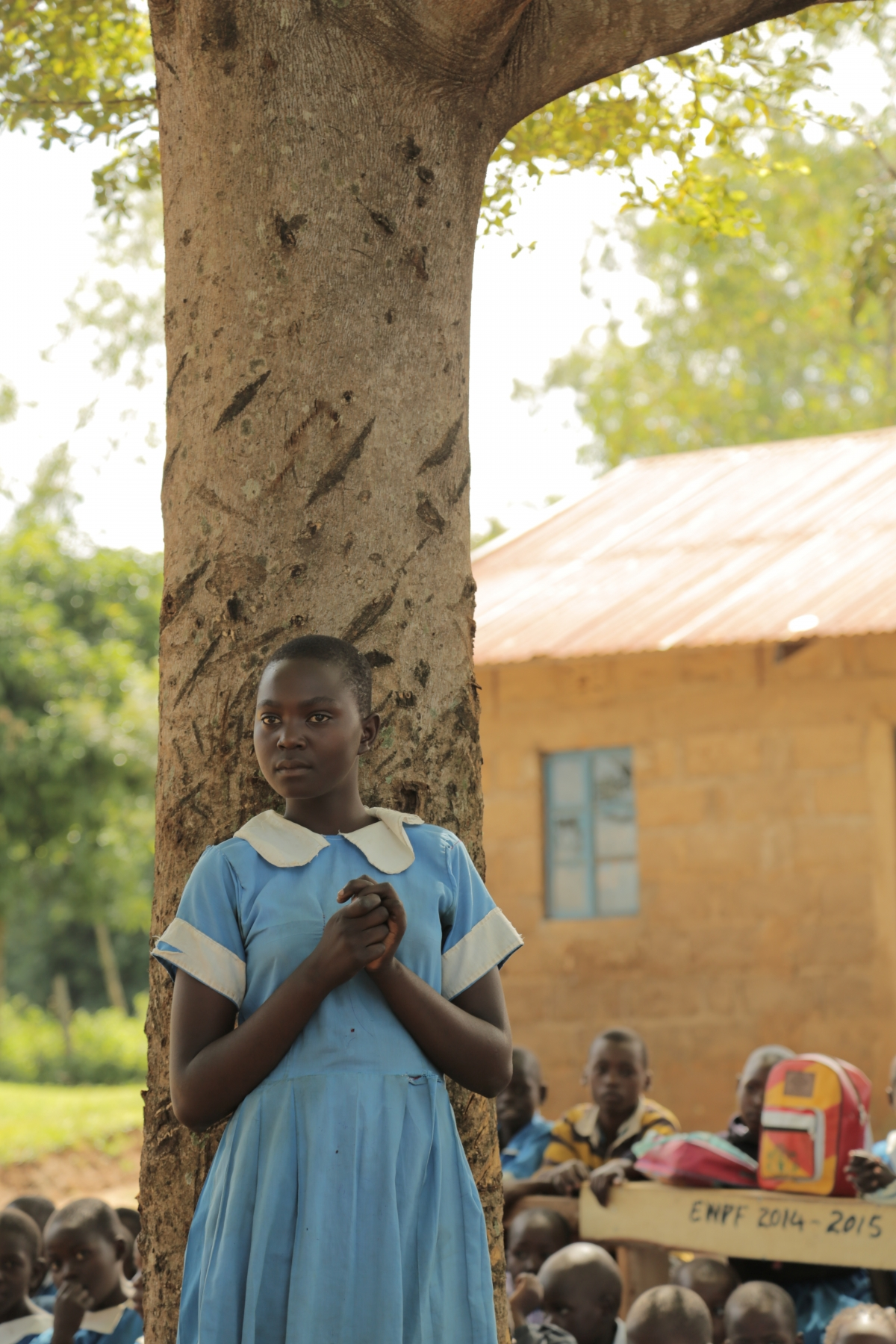 School girls at risk of child marriage
