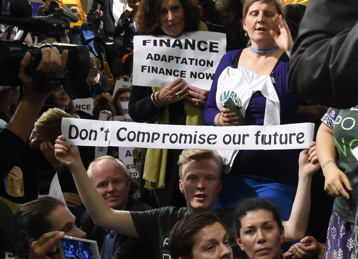 France climate change protest