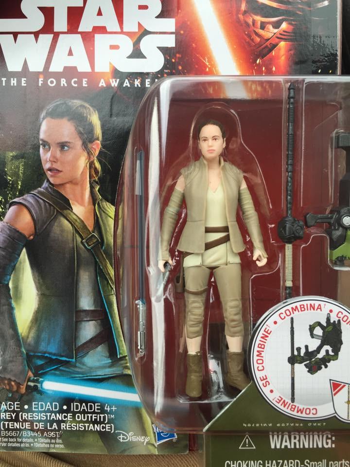 Contentious spoiler-ridden Star Wars Rey action figure