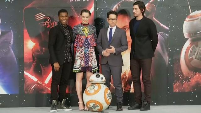 Star Wars cast in Japan