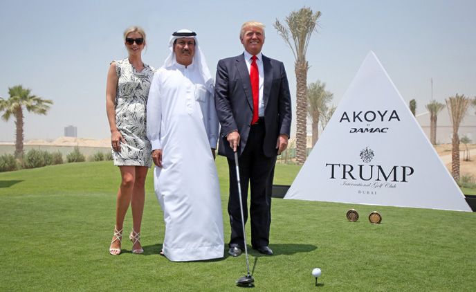 Donald Trump's name removed from Dubai golf course and ...