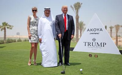 Donald Trump Hussain Sajwani Melania Trump