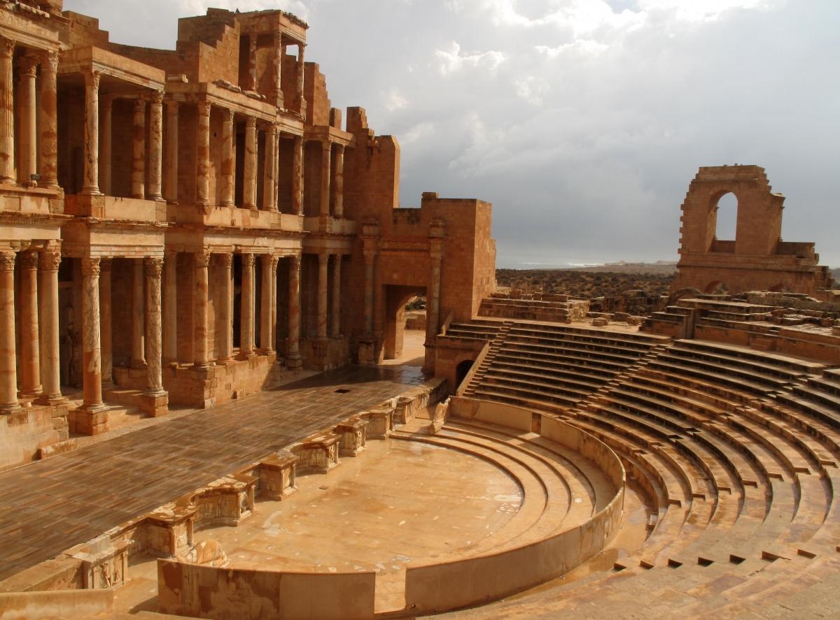 Roman theatre of Sabratha