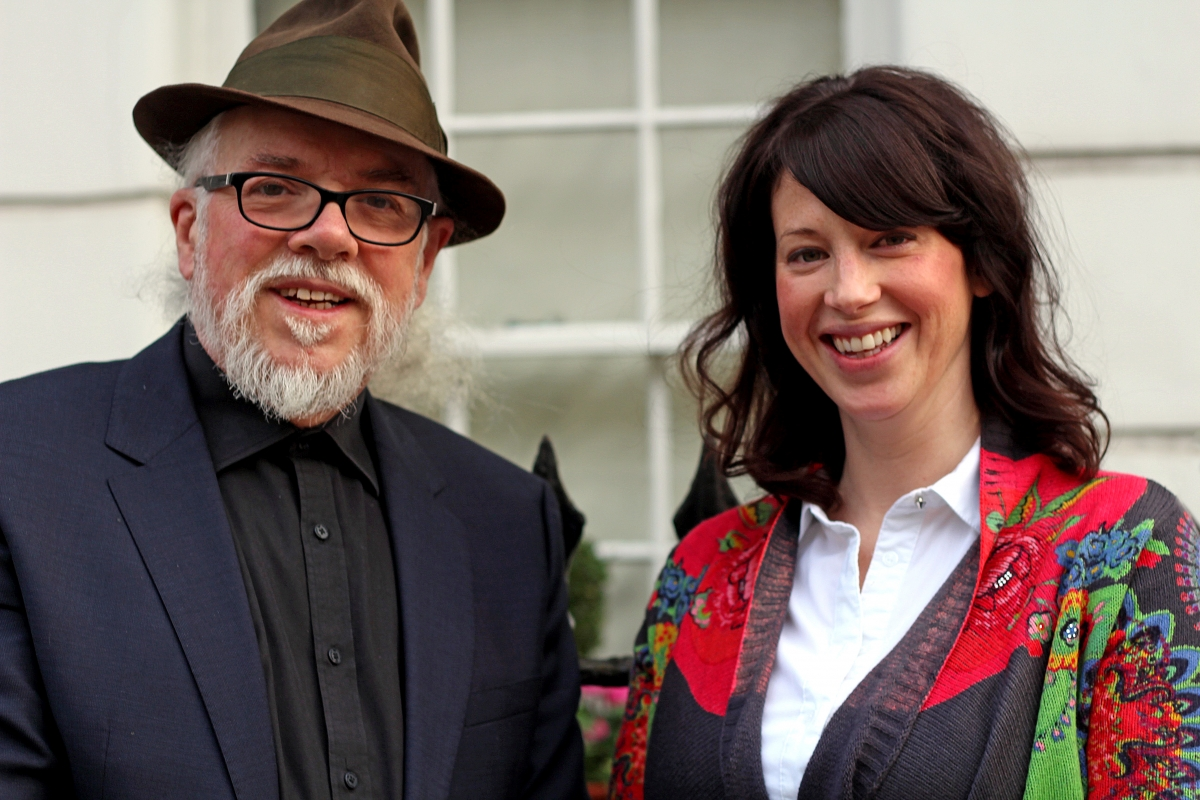 Noel Sharkey and Dr Aimee van Wynsberghe