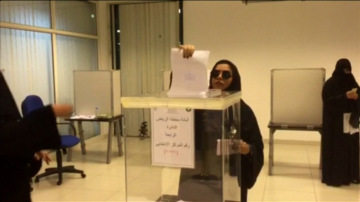 Saudi Arabia: Women vote