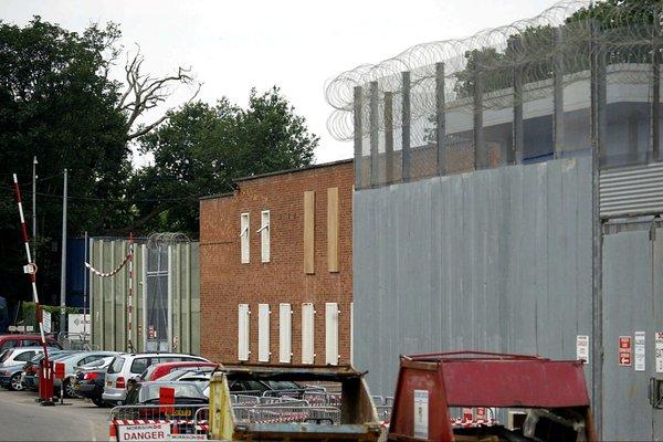 Swinfen prison riot